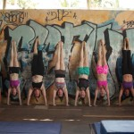 group handstand ramp